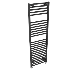 Heated Towel Rail 1652 x 500, anthracite