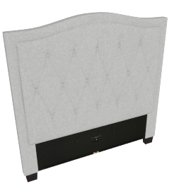 Stellar Ark Single Headboard, Grey