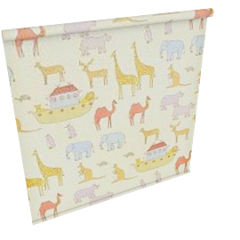 Noah`s Animals Roller Blind, W61cm