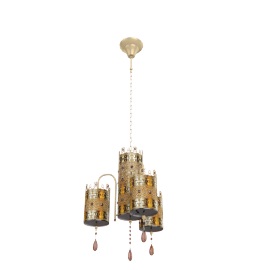 Imperial 3-light Chandelier
