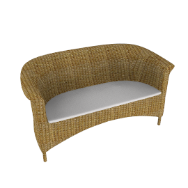 Jamaica Wicker Sofa