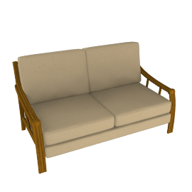 Lotus Cane Sofa