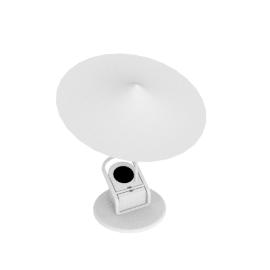 Sempe W153 Ile Clamp Lamp, White