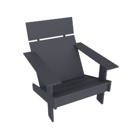Lollygagger Lounge Chair, Slate