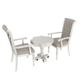 Angelina 3-Piece Tea Table Set