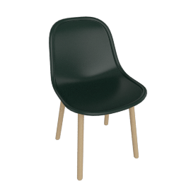 Hay Neu 13 chair, Green / Oak