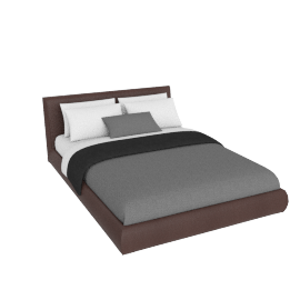 Nest Bed, Kalahari Leather: Bruno
