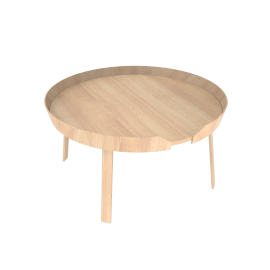Around Table, Large - Oak