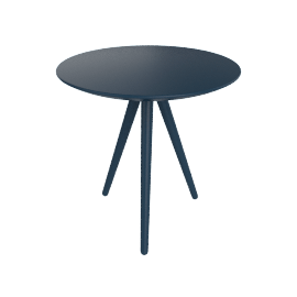 Circoe Side Table, Blue