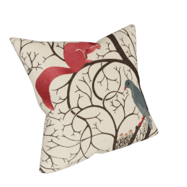 Sanderson Squirrel And Dove Cushion