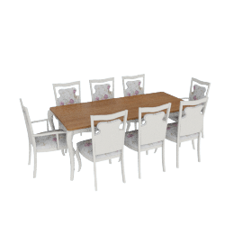 Giselle 8-Seater Dining Set