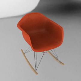 Eames® Molded Fiberglass Rocker (RFAR)