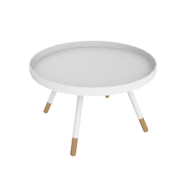 Ally Coffee Table, White