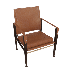 Safari Chair, Caramel