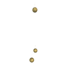 Spiky Ball Christmas Tree Decoration, Assorted