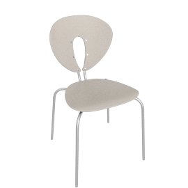Globus Chair - Plastic/Stainless