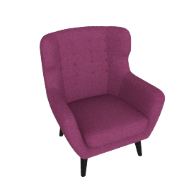 Kubrick Wing Back Chair