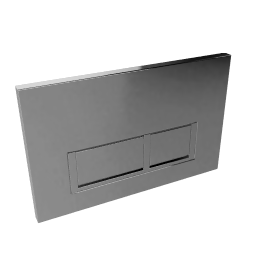 Chrome Square Flush Plate