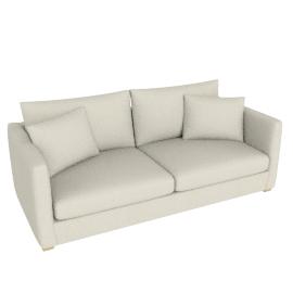 Baxter Large Sofa, Brompton Natural