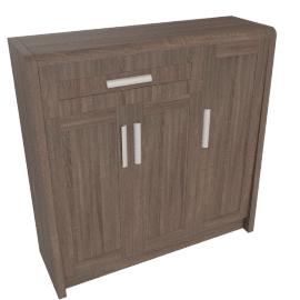 Saturn Shoe Cabinet