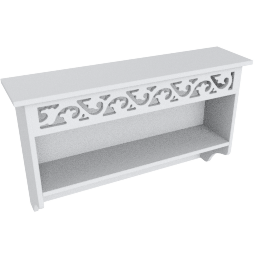Oceanic Towel Rail with Shelf