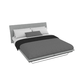 Hatten  bedstead Grey, king