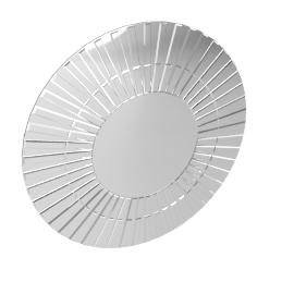 Morello Mirror, Dia. 80cm
