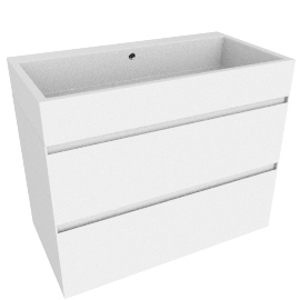 basin with drawer unit