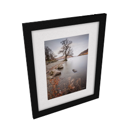 James Bell - Ullswater Tree Framed Print, 54 x 44cm