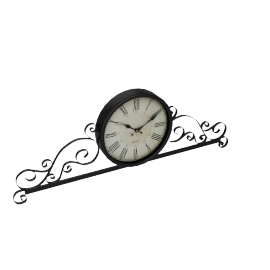 Twist In Time Wall Clock