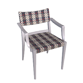 Play Armchair - Grey/Plaid - Grey