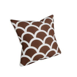 Fresco Filled Cushion - 45x45 cms, Brown
