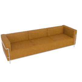 LC3 Grand Modele Three Seat Sofa