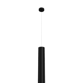Tube 70 Pendant - Black