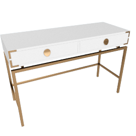 Melrose Dressing Table with Drawers