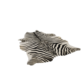 Zebra Cowhide Rug, Edelman Leather