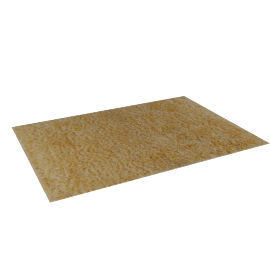 Radiant Rug - 160x230 cms, Gold