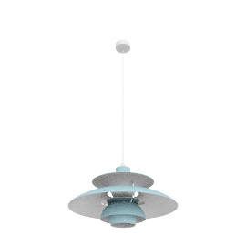 PH50 Pendant Lamp, Mint Blue