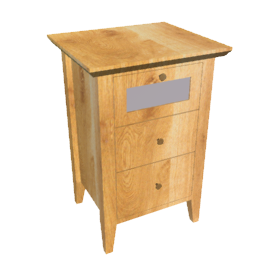 Accent Bedside Chest