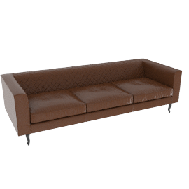 Boutique Leather sofa