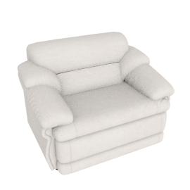 Cuddler Armchair, Beige