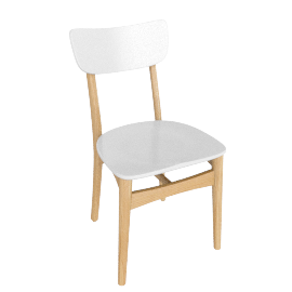 Asta Dining Chair, White