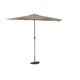 2.5mtr Half Umbrella , Beige