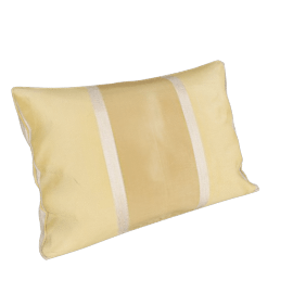 Tonal Stripe Cushion, Gold