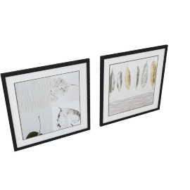 Mille Fleurs Twin Picture Frames - Set of 2