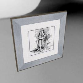 Joanne Boon Thomas- Figurative Study III Framed Print, 47 x 47cm