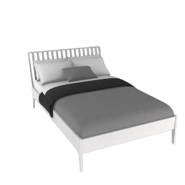 House by John Lewis Maine Bedstead, double