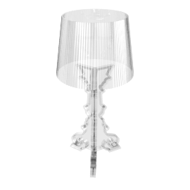 Bourgie Table Lamp, Crystal