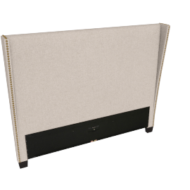 Stellar Gem Queen Headboard, Beige
