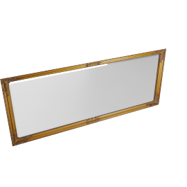 Shayma Bevell Mirror, Gold